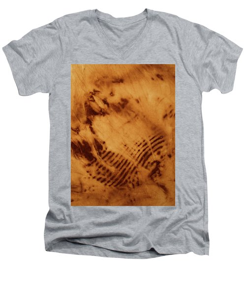 Men's V-Neck T-Shirt featuring the photograph The Tulip by Cynthia Powell