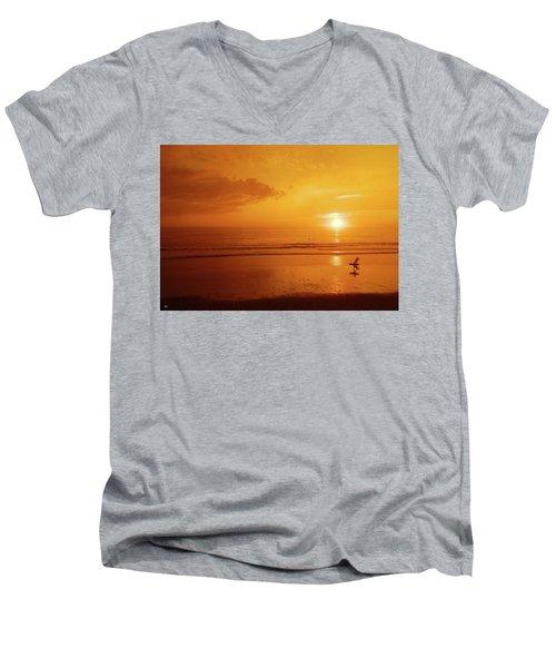 The Turning Tide Men's V-Neck T-Shirt