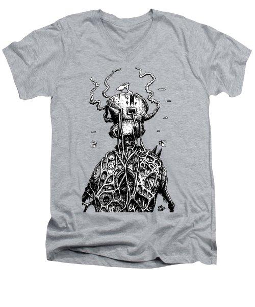 The Tyrant Men's V-Neck T-Shirt