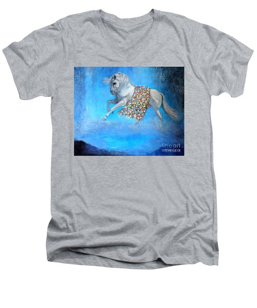 The Unicorn Men's V-Neck T-Shirt