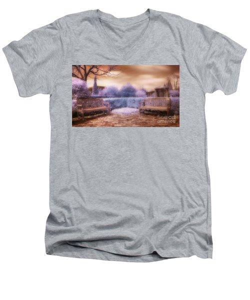 The Unseen Light Men's V-Neck T-Shirt