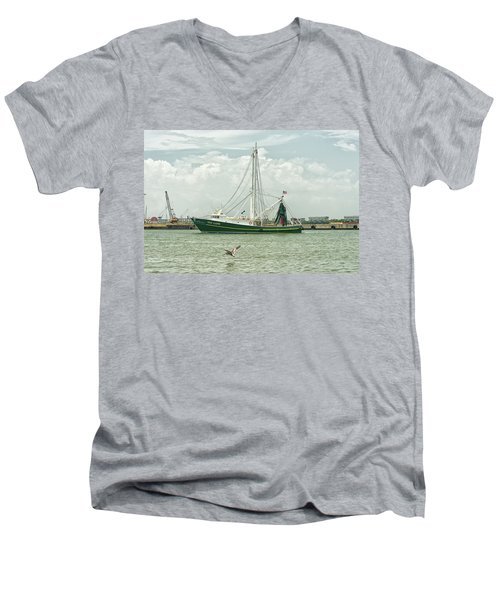 The Van Lang Men's V-Neck T-Shirt