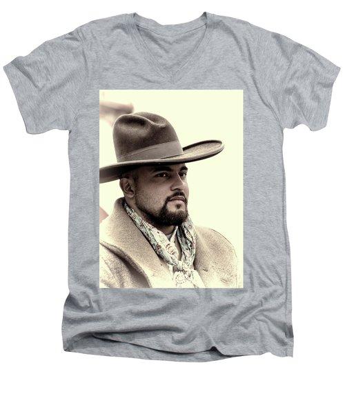 The Vaquero Men's V-Neck T-Shirt