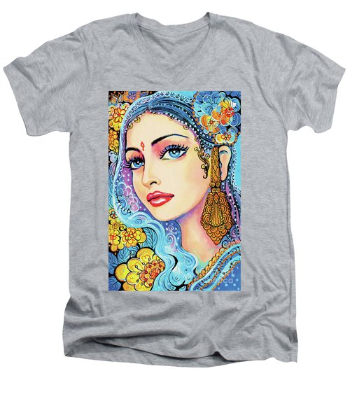 The Veil Of Aish Men's V-Neck T-Shirt