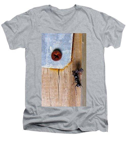 The Victor Men's V-Neck T-Shirt