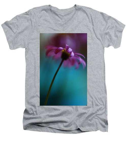 The View Above Men's V-Neck T-Shirt by Kym Clarke