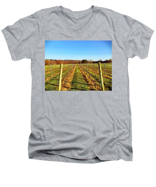 The Vineyard Men's V-Neck T-Shirt