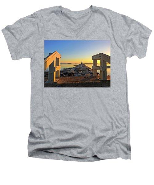 The Walkway Men's V-Neck T-Shirt