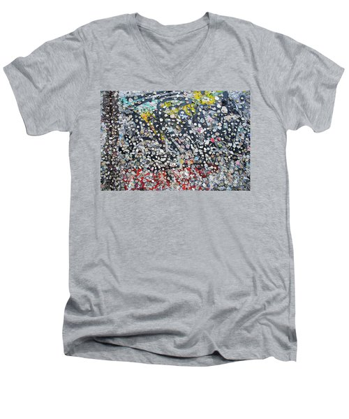The Wall #5 Men's V-Neck T-Shirt