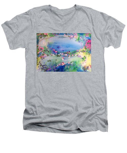 The Warmth Of August Men's V-Neck T-Shirt