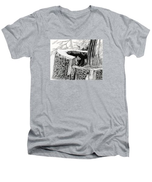 The Watchers Men's V-Neck T-Shirt