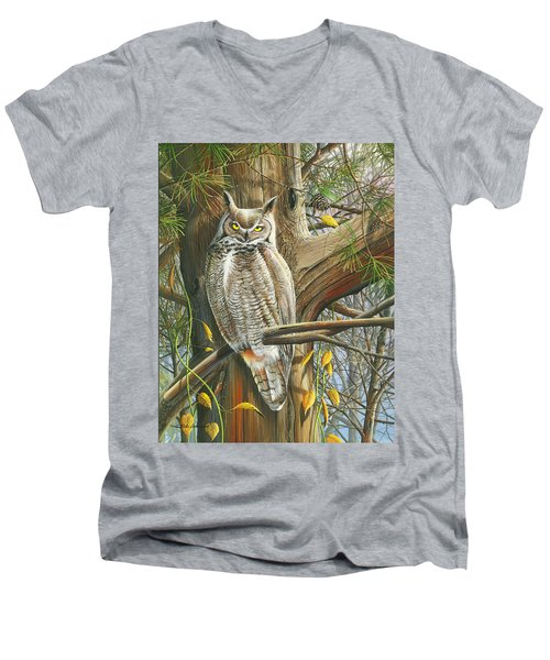 The Watchman Men's V-Neck T-Shirt