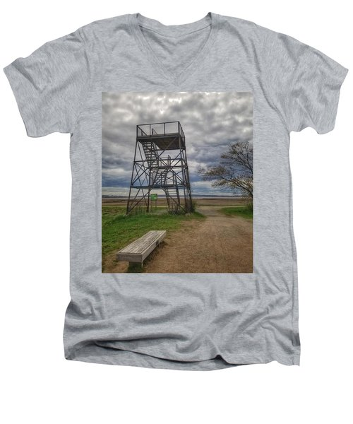 The Watchtower  Men's V-Neck T-Shirt