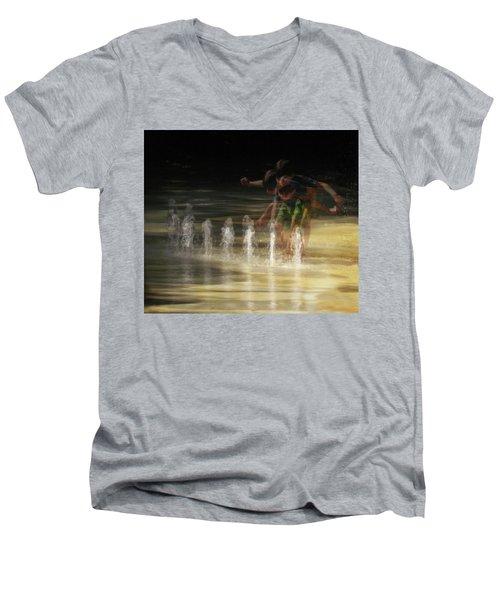 The Water Maestro  Men's V-Neck T-Shirt