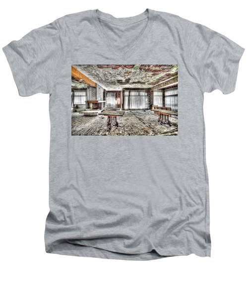 The Waterfall Hotel - L'hotel Della Cascata Men's V-Neck T-Shirt