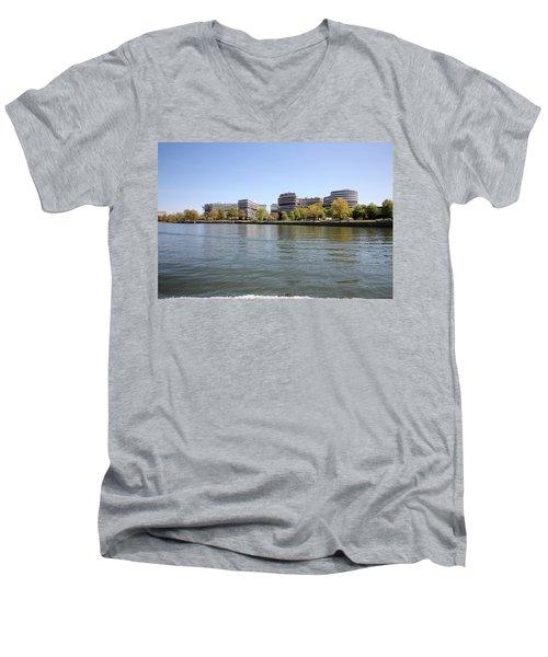The Watergate Complex Men's V-Neck T-Shirt
