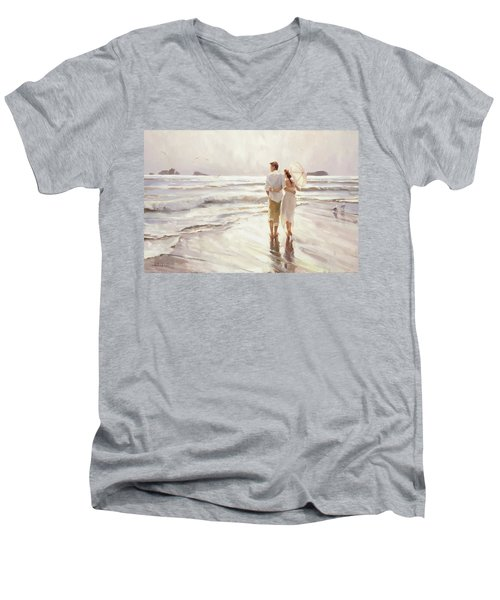 The Way That It Should Be Men's V-Neck T-Shirt
