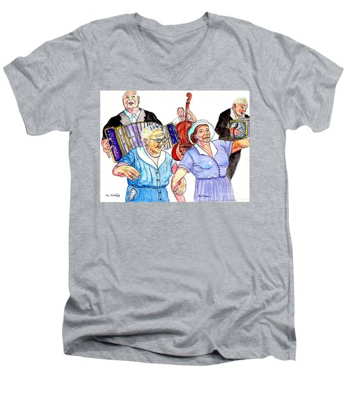The Wedding - Life On The Stoop Men's V-Neck T-Shirt