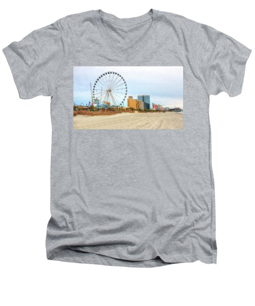 The Wheel Men's V-Neck T-Shirt