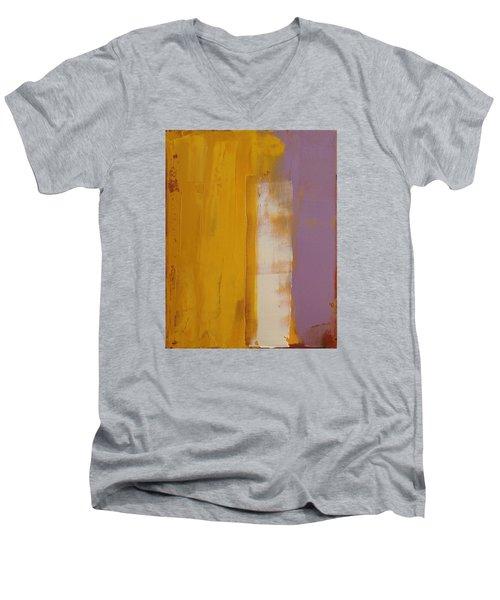The White Stripe Men's V-Neck T-Shirt