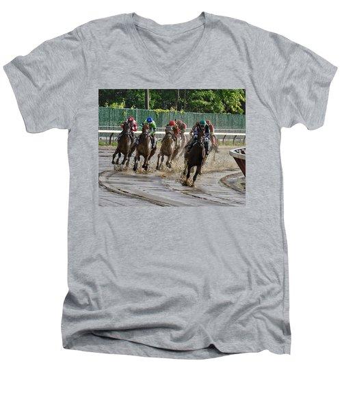 Diversify Winning The Whitney 2018 Men's V-Neck T-Shirt