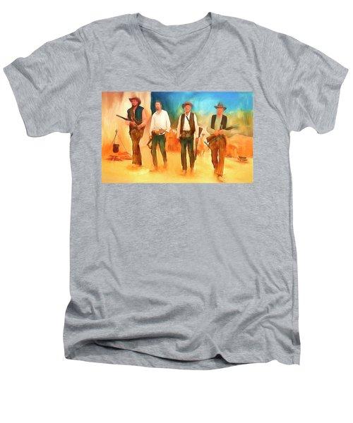 The Wild Bunch Men's V-Neck T-Shirt