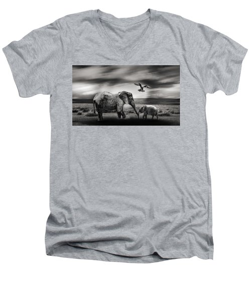 The Wild Men's V-Neck T-Shirt