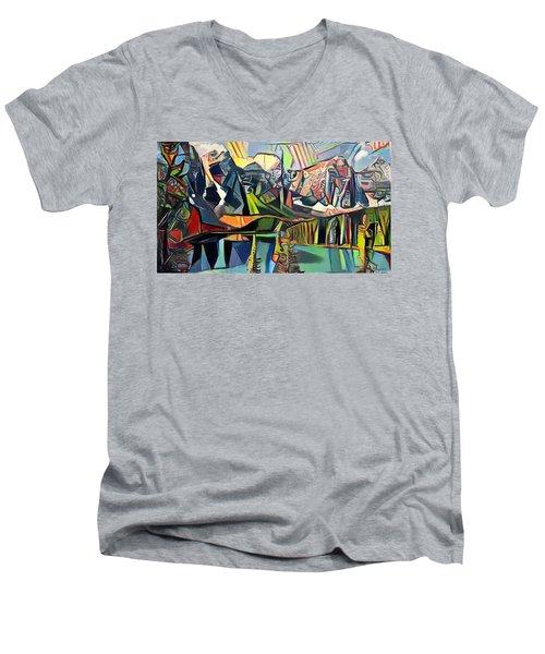 The Wild Places Men's V-Neck T-Shirt