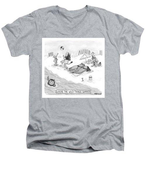 The Wild Things Men's V-Neck T-Shirt