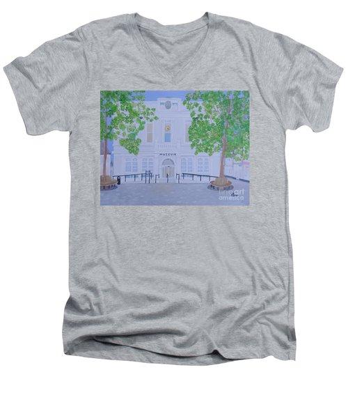 The Willis Museum Basingstoke Men's V-Neck T-Shirt