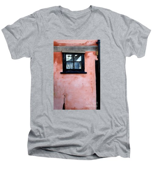 Men's V-Neck T-Shirt featuring the photograph The Window by Gary Bridger