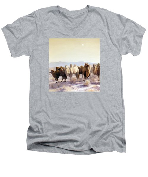 The Winter Solstice Men's V-Neck T-Shirt