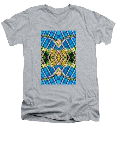 The Wit Hotel N90 V4 Men's V-Neck T-Shirt by Raymond Kunst