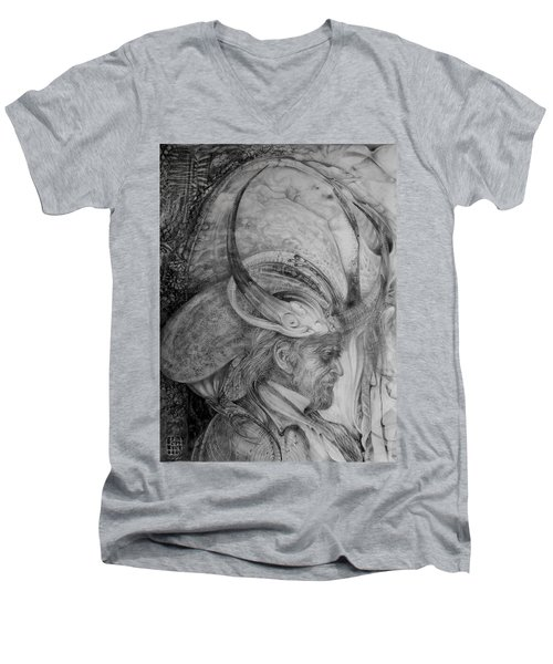 The Wizard Of Earth-sea Men's V-Neck T-Shirt