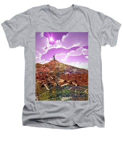 The Wizzard Men's V-Neck T-Shirt