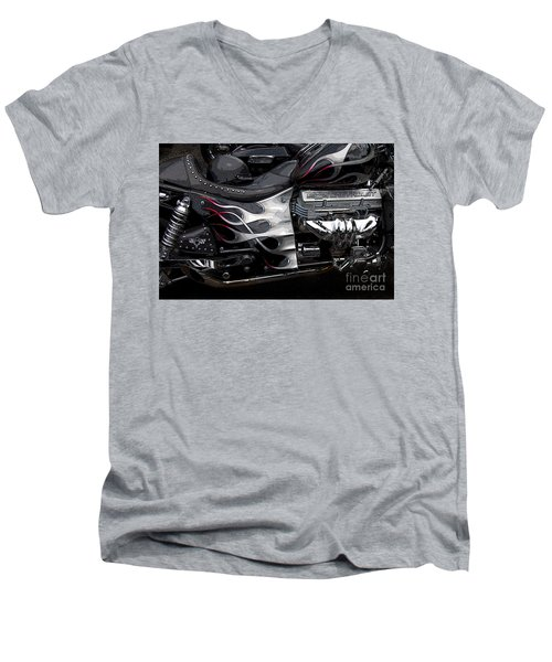the WOW factor Men's V-Neck T-Shirt