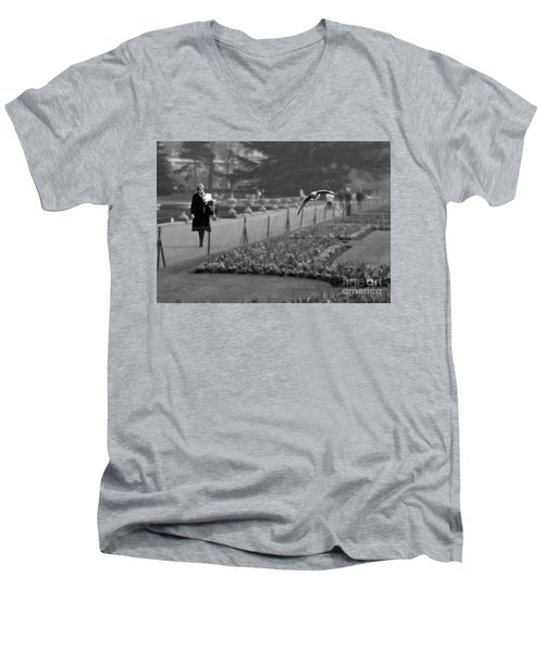 The Writers Story Men's V-Neck T-Shirt