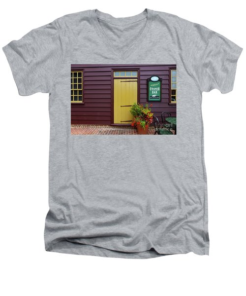 The Yellow Door In Annapolis Men's V-Neck T-Shirt