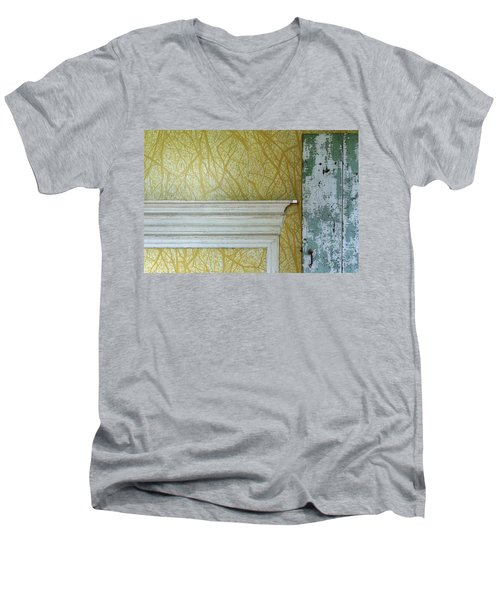 The Yellow Room No. 3 - Detail Men's V-Neck T-Shirt