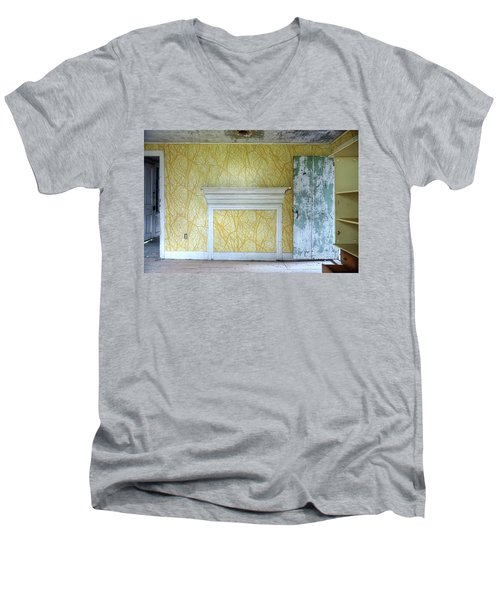 The Yellow Room No.3 Men's V-Neck T-Shirt