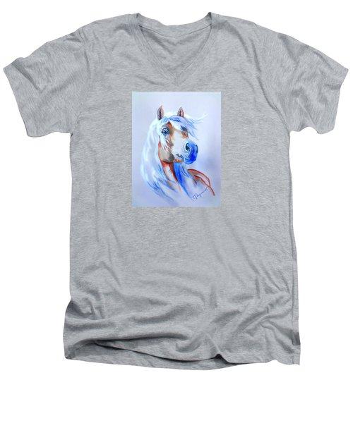 The Young Rebel II Men's V-Neck T-Shirt