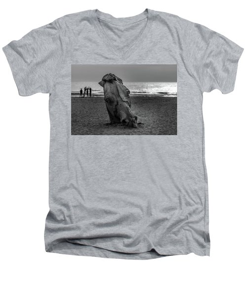 The Youth And The Horsehead Men's V-Neck T-Shirt