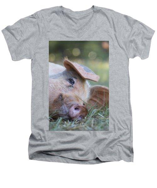 Thelma Lou Men's V-Neck T-Shirt