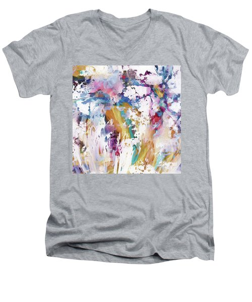There Is Still Beauty To Behold Men's V-Neck T-Shirt by Margie Chapman