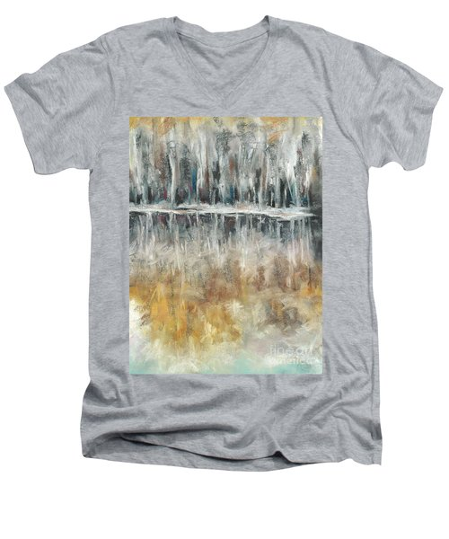 Theres Two Sides To Everything Men's V-Neck T-Shirt