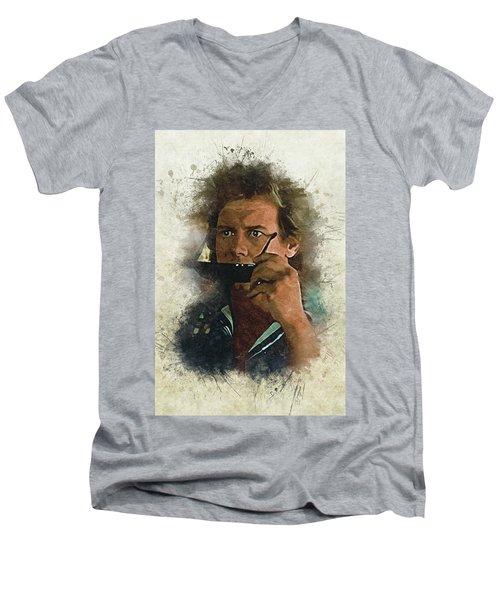 They Live? Men's V-Neck T-Shirt