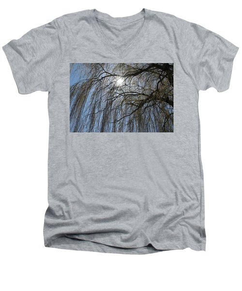 Thick And Thin -  Men's V-Neck T-Shirt