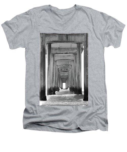 Think Outside Of The Box Men's V-Neck T-Shirt