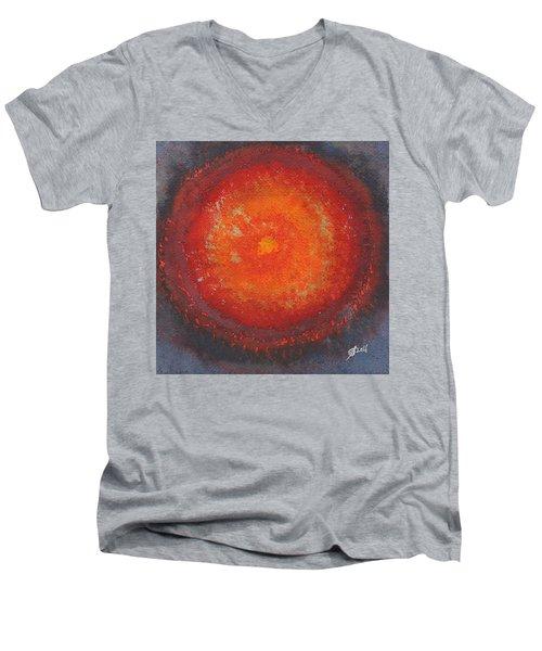 Third Eye Original Painting Men's V-Neck T-Shirt