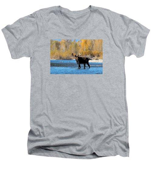 Thirst Quenching Men's V-Neck T-Shirt